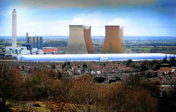 Rugeley coal power plant
